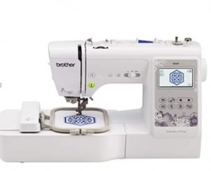 Embroidery machines for custom designs