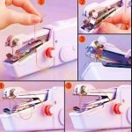 How to Use a Handheld Sewing Machine?